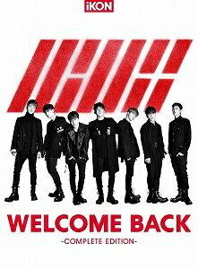 iKON/WELCOME BACK-COMPLETE EDITION-【CD/韓国・中国系歌手】