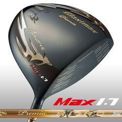 【超高反発】マキシマックスブラックプレミアリミテッドMAX1.7ワークスゴルフWORKSGOLF飛距離飛ぶ曲がらないスライスゴルフドライバー高反発ドライバードラコン