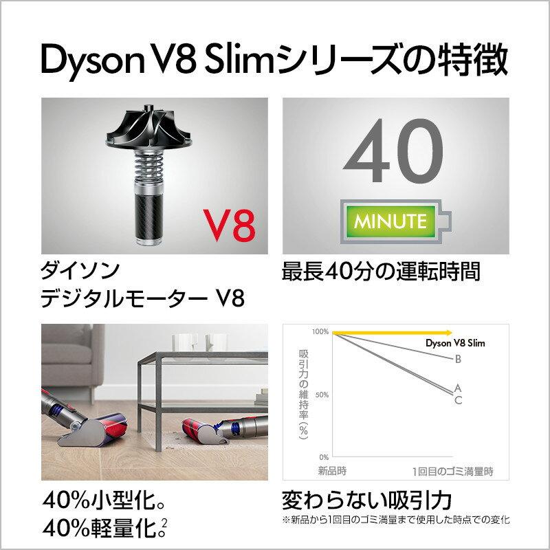 Dyson(ダイソン)『V8SlimFluffy(SV10KSLM)』