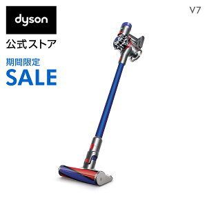 39%OFF【期間限定】4/2(木)9:59amまで!ダイソン Dyson V7 サイクロン式 コードレス掃除機 dyson SV11FFOLB 2018年モデル