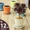 JUNK風おしゃれツートンカラーの陶器鉢 M(12.5cm)の写真