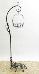 送料無料室内用 フラワースタンド アイアン ガゼボ【送料無料】アイアンアームスタンド※植物は...