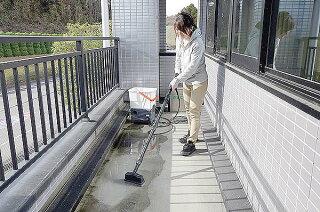 【送料無料】アイリスオーヤマタンク式高圧洗浄機ベランダセットSBT-512V【洗車外壁家庭用業務用清掃掃除電動工具黄砂台風除雪花粉】
