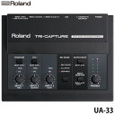 【送料無料】ローランド〔Roland〕USBオーディオインターフェースTRICAPTURE UA-33【TC】【KM】【送料無料】
