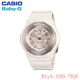 【送料無料】カシオ〔CASIO〕Baby-G防水腕時計BGA-100-7BJF〔ベイビージーレディース女性用〕【HD】【TC】【送料無料】【取り寄せ品】【RCP】[CAWT]