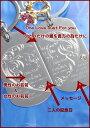 【名入れ専門】【名入れ プレゼント】 【ペアセット】ドックタグペアキーホルダ-(どんな時でも一緒にいようね) 2