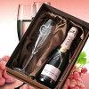 【酒】名入れプレゼントモエ・エ・シャンドンロゼ375ml&シャンパング