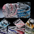 【名入れ プレゼント】【名入れ グラス】沖縄琉球ガラス 残波ロック 2点よりどりペアグラスセット