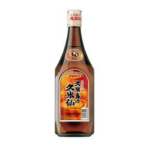 久米島の久米仙ブラウン 30度/720ml【沖縄】【泡盛】【焼酎】