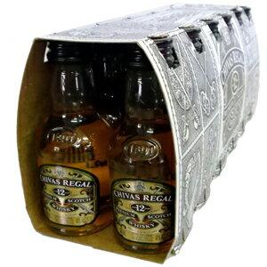 シーバスリーガル12年 50ml 40度 12本入りカートン【沖縄】【洋酒】【ウィスキー】