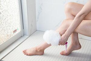Hadamoist(肌モイスト、ハダモイスト)なで洗いアトピー背中ニキビ日焼けあせも湿疹乾燥肌ひじひざボディタオル泡立てネット回転肌荒れ敏感肌ブラシうるおい予約