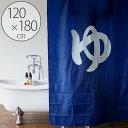 シャワーカーテン「温泉入浴」(120×180cm)【お風呂カーテン 防...