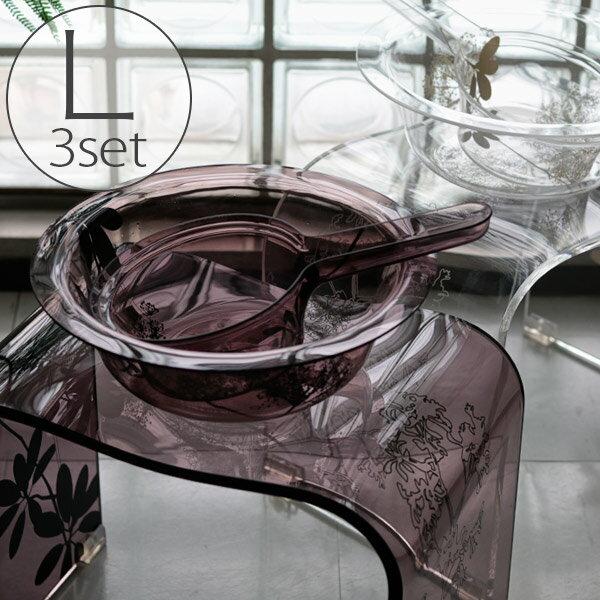 【送料無料】バスチェアL&洗面器&手桶「SARINA2(サリナ2)」3点セット【バスチェア アクリル セット おしゃれ】【あす楽】