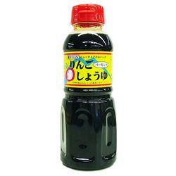 青森の味!塩分11.5%の美味しお醤油_りんごバーモント醤油_300ml