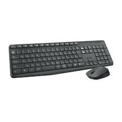 羅技的無線滑鼠,羅技 Logicool 和防水設計鍵盤設置 (MK235) 標準股票 ○