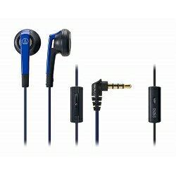 鐵三角智慧型手機事情內部年耳機/藍色ATH-C505iS BL廠商庫存[10P03Dec16]