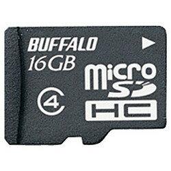 バッファロー RMSD-BS16GB 防水仕様 Class4対応 microSDHC 16GB 目安在庫=○