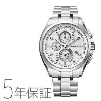 CITIZEN citizen ATTESA atessa eco-drive radio watch ダイレクトフライトメンズ watch AT8040-57Afs3gm