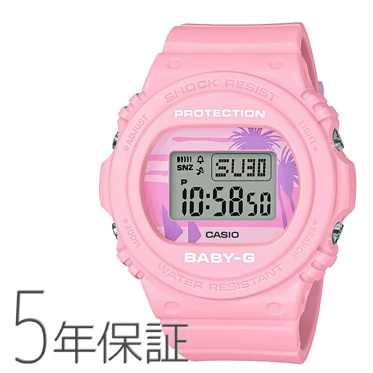 腕時計, レディース腕時計 Baby-G G BGD-570BC-4JF CASIO 80s Beach Colors
