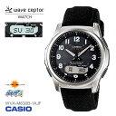 カシオ CASIO WAVE CEPTOR ウェーブセプター 電波時計 タフソーラー WVA-M63 ...