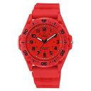 シチズン CITIZEN Q&Q スポーツ アナログ チプシチ 10気圧防水 レッド 赤 ブラック 黒 VS34-001 腕時計 全国送料無料 ネコポス限定