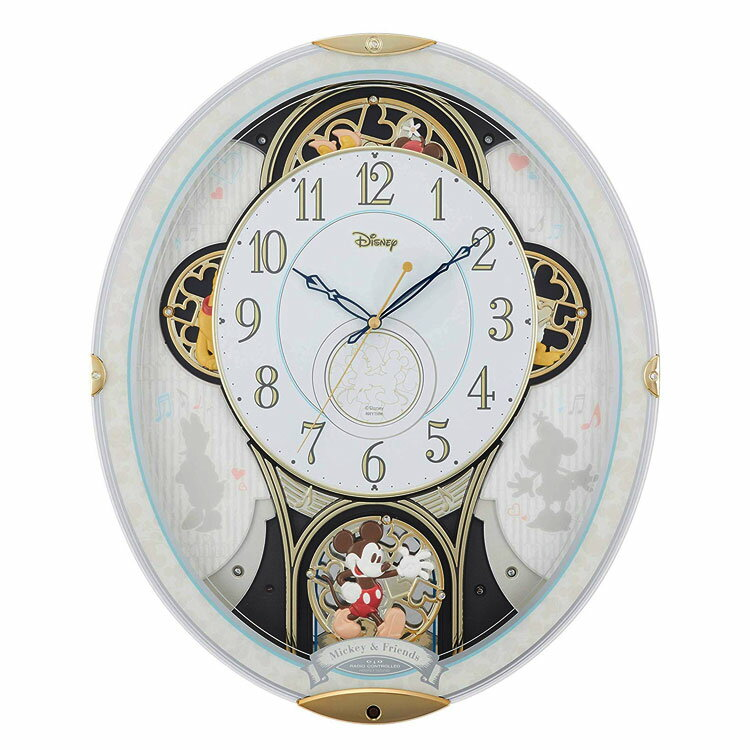 置き時計・掛け時計, 掛け時計  M509 4MN509MC03 CLOCK Disney