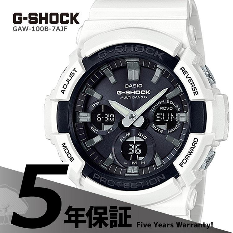 CASIO G-SHOCK white G-SHOCK g-shock G GAW-100B-7...