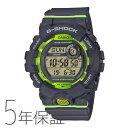 G-SHOCK g-shock Gショック GBD-800-8JF カシオ CASIO G-SQUAD スマホ連携機能 モバイルリンク グレー グリーン メンズ 腕時計