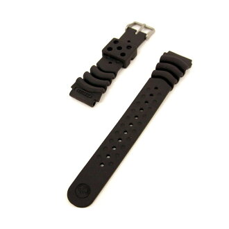 SEIKO Seiko genuine urethane band / diver band gang width: 20 mm replacement band DB73BP