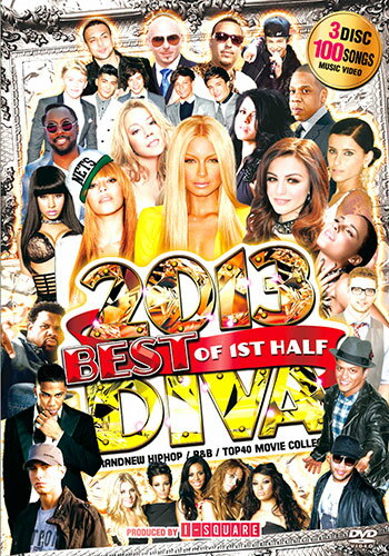 메가 히트 3 매 6 시간 오버! DIVA BEST OF 2013 1ST HALF - I-SQUARE mixcd