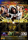 MUSICFACTORY13-BEST2013HIPHOP/R&B&EDM/POPS-�ڹ����סۡ��γ�DVD�ۡ�2���ȡۡڤ������б���