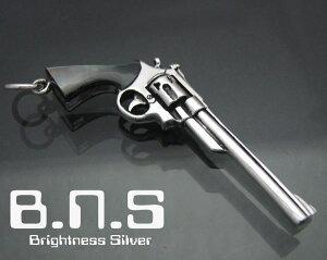 世界最強のリボルバー拳銃のペンダント最高品質 44マグナムリボルバーピストルペンダント シェ...