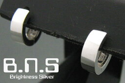 最高品質 片方 スリムリングピアスS 中折れタイプ シルバー925