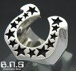 馬蹄の指輪 ホースシューリング シルバー925(メンズ レディース シルバーリング 蹄鉄 銀)