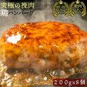 お中元 究極のひき肉で作る チキン100% ハンバーグ ステ