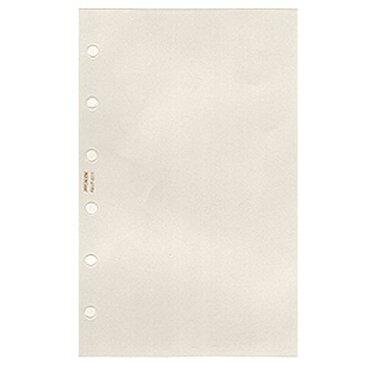 日本能率協会 システム手帳リフィル【PetitPAGEM ミニ6サイズ】クリアファイルNo.P-611