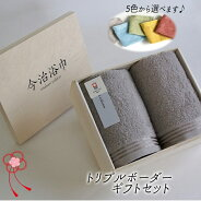 丸栄タオル(株)トリプルボーダーギフトドットセット1