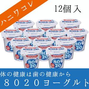 ~ハニワコレ!でおなじみ。L8020菌を使用したヨーグルト~四国乳業(株)8020ヨーグルト 12個セ...