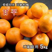 リベラル愛媛県産甘平(かんぺい)サイズおまかせL〜4Lサイズご家庭用5kg