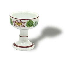 【仏具 仏器】仏器(仏飯器) 陶器製 錦