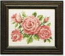 【ルシアン】 刺繍キット 7824 バラ(4月)