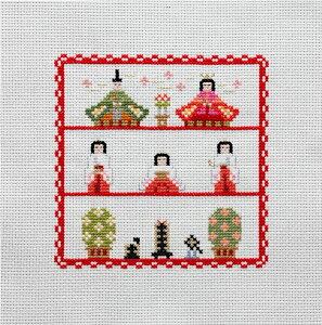 Brodees 刺繍キット K221 ひなまつり