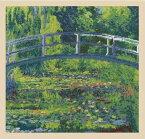 【DMC】 クロスステッチ 刺繍キット BL1111/71 Claude Monet - The water-lily pond クロード・モネ 「睡蓮の池」 1899年 【あす楽】【送料無料】【HLS_DU】