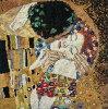 ★新発売★【DMC】クロスステッチ刺繍キットBK1811THEKISS『接吻』GustavKlimt【あす楽】【送料無料】