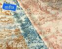 ★新発売★【mfta】フランス製コットンプリント生地MATINMIDISOIR6613(全3色)【切り売り】