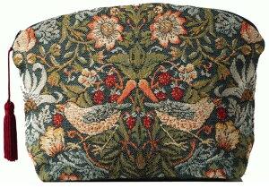 【ART de LYS】 William Morris 8462 Strawberry Thief (いちご泥棒) ポーチ 【送料無料】【あす楽】【HLS_DU】