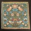 【ARTdeLYS】WilliamMorris8457StrawberryThief(いちご泥棒)フランス製ゴブラン織りパネル生地(約36×36cm)【あす楽】【HLS_DU】