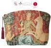 【ARTdeLYS】フランス製ゴブラン織りポーチ貴婦人と一角獣2025Lavue視覚【送料無料】【あす楽】【HLS_DU】
