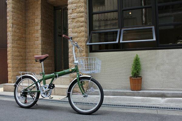 折りたたみ自転車 20インチ 軽量 おすすめ コンパクト 折り畳み自転車 TOPONE トップワン 20インチ カゴ カギ LEDライト付 シマノ6段変速ギア メンズ レディース KGK206LL-09 折畳み自転車 通勤・通学・お買い物に! 激安