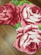 人気商品!3輪薔薇のトイレマット♪【送料無料】☆